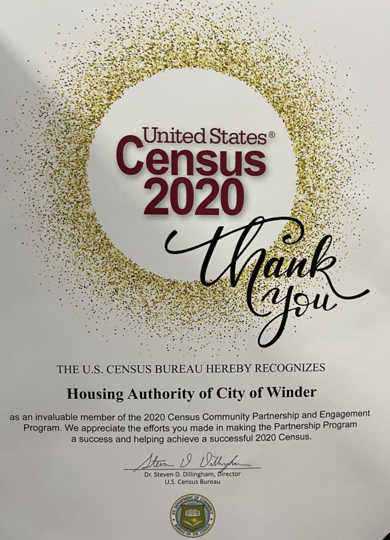 WHA helps Barrow County place 5th in GA in Census Completion
